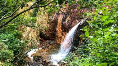 Mt. Yudono of the Dewa Sanzan waterfall meditation spot