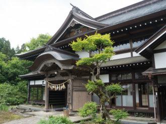 Dewa Sanzan Accommodation: Daishinbo Pilgrim Lodge on Mt. Haguro