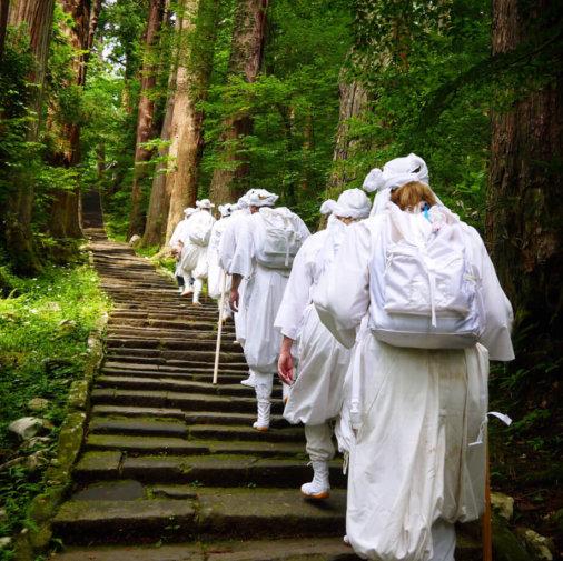 Fudomyo'o on Mt. Haguro of the Dewa Sanzan